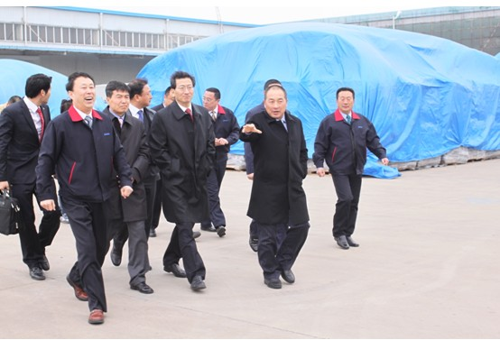 韩国(株)韩进石泰寿社长莅临陆海集团参观访问